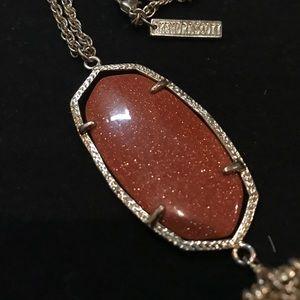 Kendra Scott Rayne Necklace in Goldstone